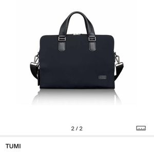 Authentic tumi laptop bag